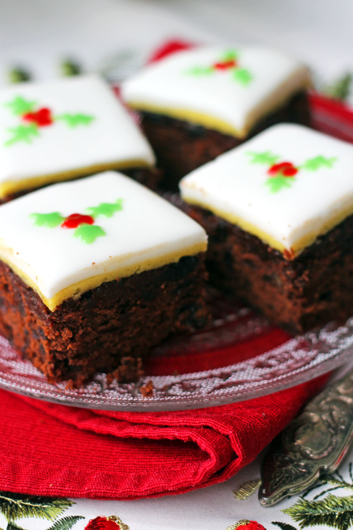 Alternative Christmas Fruit Cake Recipe